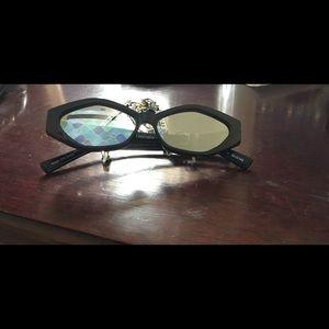 Le Specs Luxe Petit Panthere Black Silver